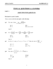 Calculus III Solution