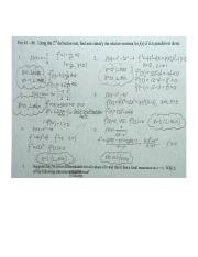 04 The 2nd Derivative test WS key.docx