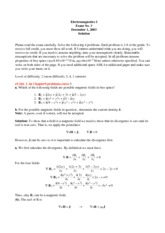 Exam 10 with Solutions
