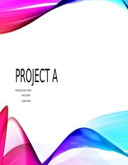 Project A!