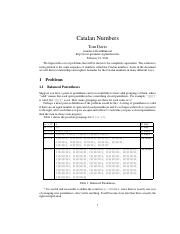 catalan_numbers