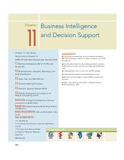 14. Chapter 11 - Business Intelligence and Decision Support.pdf