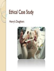 Henrys Daughters Case Study