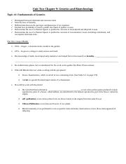 Copy of chapter 9 fill in notes updated cornell - Logan Somers