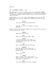 Final Screenplay