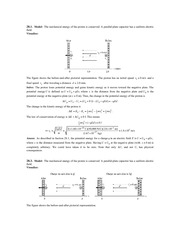 Ch28 Solutions: Electric Potential