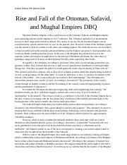 conquerors dbq mongols and ottomans