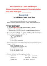 Thyroid Disorders (1)