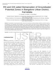 RS-and-GIS-aided-Demarcation-of-Groundwater-Potential-Zones-in-Bangalore-Urban-District-Karnataka.pd