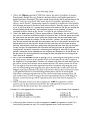 PHIL 1110 Exam 2 study guide