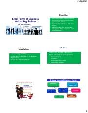HUTECH_Legal Forms of Business and Its Regulations
