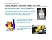 topic6-Alcohols