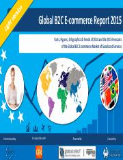 global b2c e-commerce report 2015 light