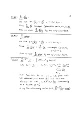 Math 110 Converging Series Solutions