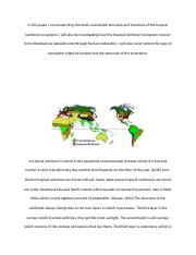 Tropical Rainforest_ Ecosystems and How They Work_CourtneyRobinson.docx