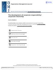 The development of corporate responsibility corporate citizenship7204.pdf
