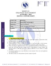Activity answers Strategic managment.pdf