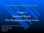 7Ed_CCH_Forensic_Investigative_Accounting_Ch05.ppt