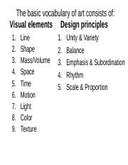 VisualElements DesignPrinciples F16.ppt