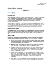 us 101 goal setting wrksht Goal setting worksheet us 101 material goal setting worksheet review this week's resources (for example smart criteria, and the career plan building activities.