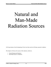 RADD 2501 Sources of Ionizing Radiation
