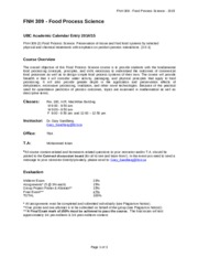 FNH309_CourseOutline&Schedule_2015(1)