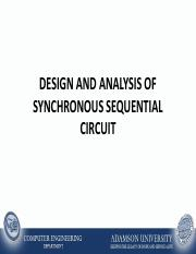 Lecture No. 2 - Analysis and Design of Synchronous Sequential Circuit.pdf