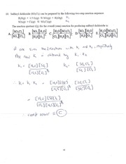 CHEM 400 Fall 2012 Quiz 1 Solutions