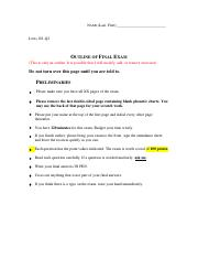 14. LING 101_Final Exam_Outline