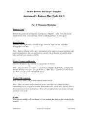 Assignment 3 Template