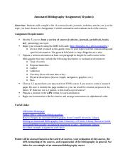 Annotated Bibliography Assignment(2).docx