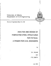 Fatigue Primer for Civil Engineers - Kulak and Smith 1993