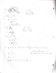 Integration by U Substitution