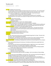 Exam 2 Study Guide from Study Session