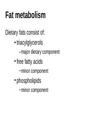 2006 fat metabolism.ppt