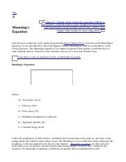Manning's Equation.html