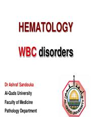 13- WBC Disorders - Lecture I.pdf