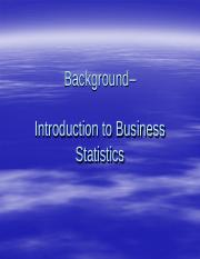 BM3034_Introduction to Business Statistics