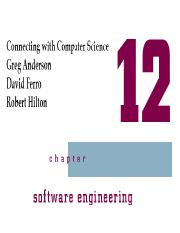 Chapter12_Software engineering