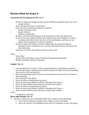 Review Sheet for Exam 4