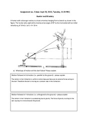 Physics - Assignment 2- Hunter & Monkey (1)