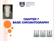 CHAPTER 7-BASIC CHROMATOGRAPHY