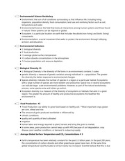 Chapter 1 class lesson outline notes 1 environmental science chapter 1 class lesson outline notes 1 environmental science vocabulary environment the sum of all conditions surrounding us that influence life altavistaventures Image collections