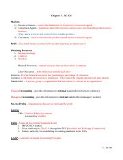 Accounting 221- Ch 1 study guide.docx
