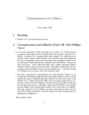 11. unemployment and inflation