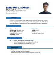 Resume (Busscor)