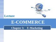 chapter 3 - Emarketing