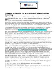 BrewDog  Scottish Craft Beer Company V2.docx