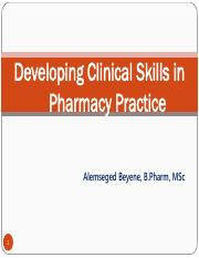 8. Clinical skills for pharmacist.pdf