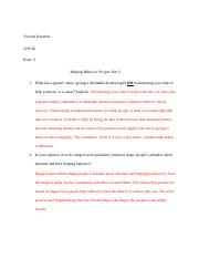 helping behavior project part 2.docx
